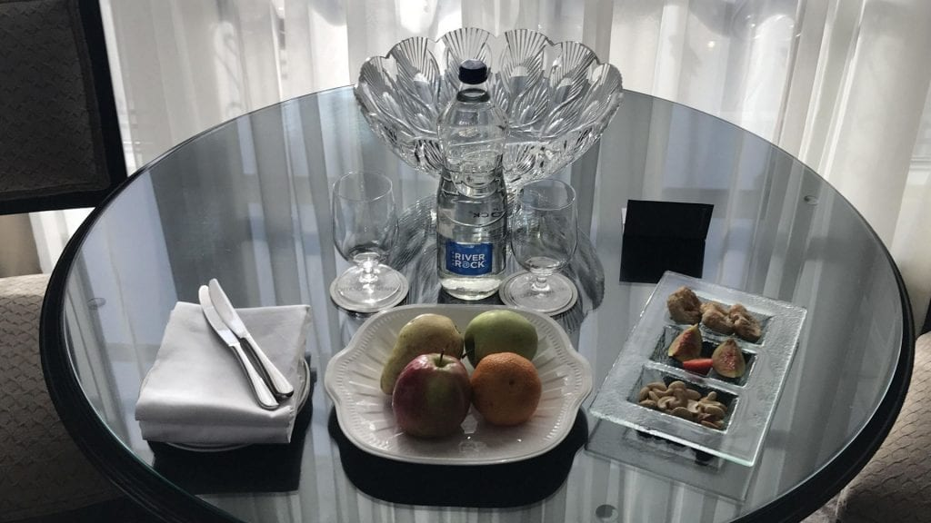 intercontinental dublin welcome treatment