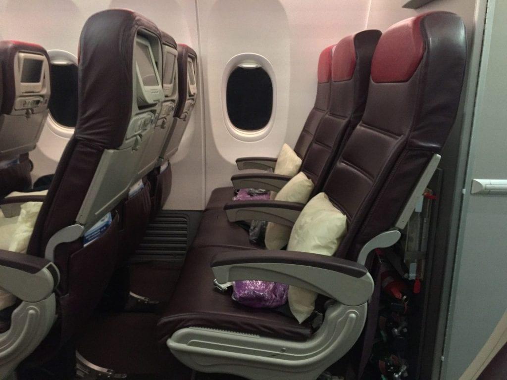 malaysia airlines economy class kurzstrecke sitzabstand 1