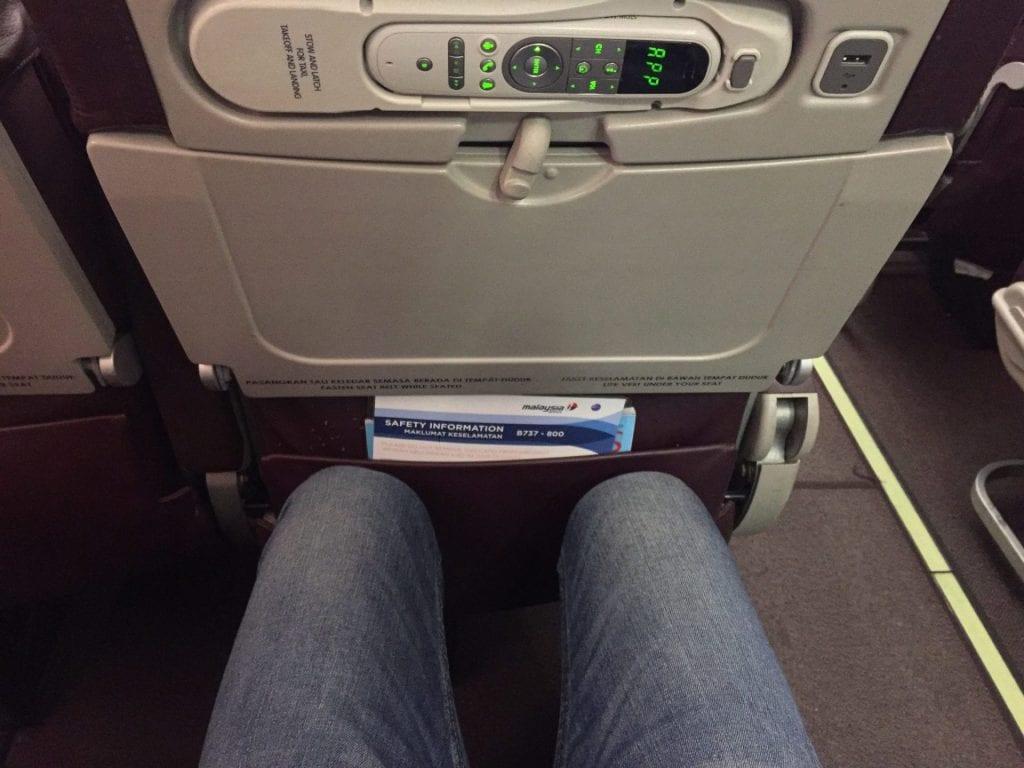 malaysia airlines economy class kurzstrecke sitzabstand 2
