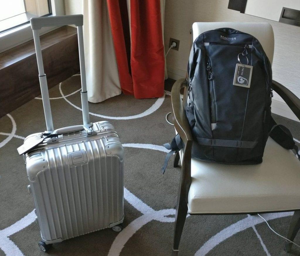 Mit Rucksack und Handgepäck-Koffer sind Reisen deutlich entspannter