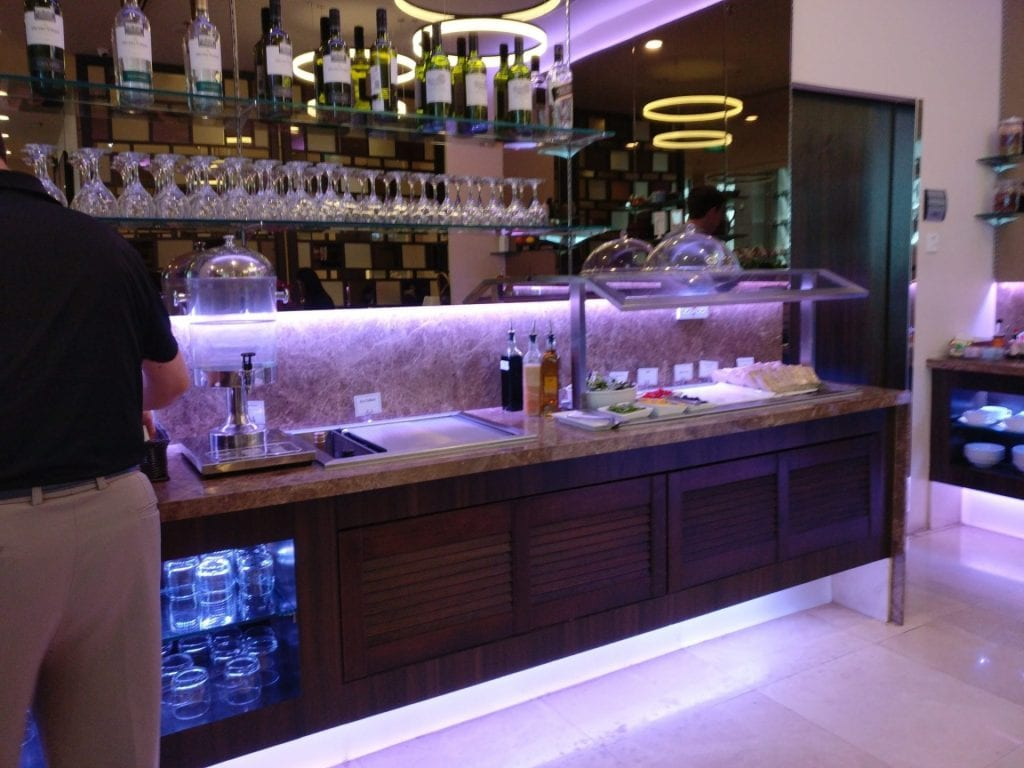 sats premium lounge singapur buffet 2
