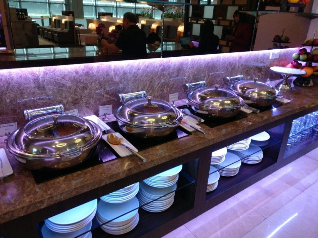 sats premium lounge singapur buffet 4