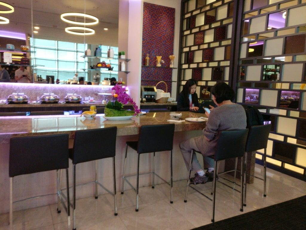 sats premium lounge singapur buffet 5
