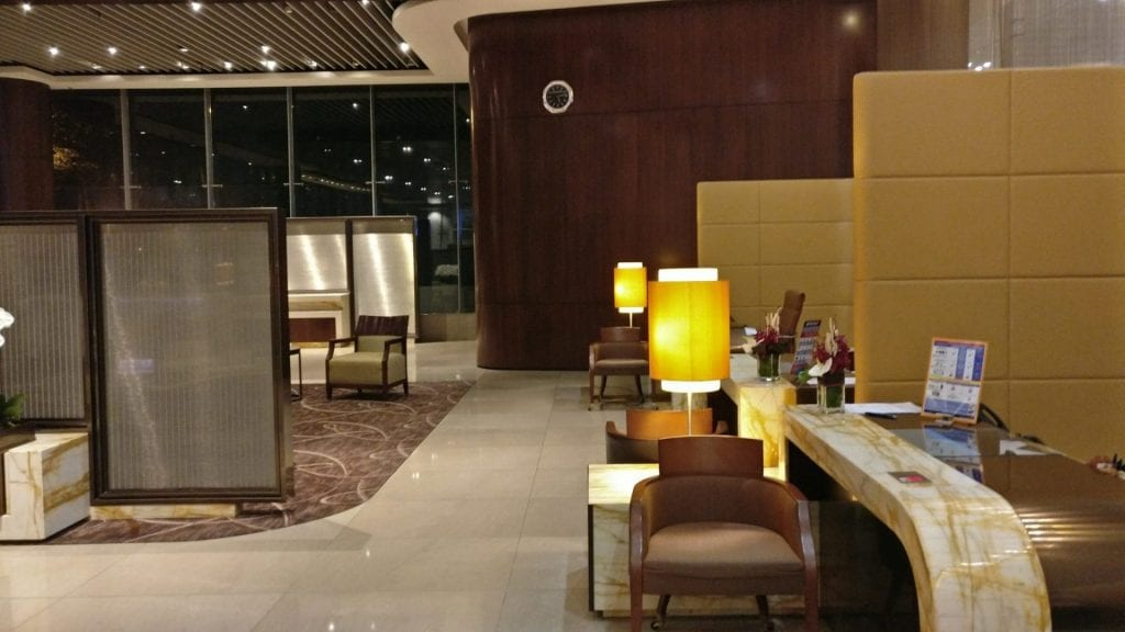 Singapore Airlines Suites Class Check in