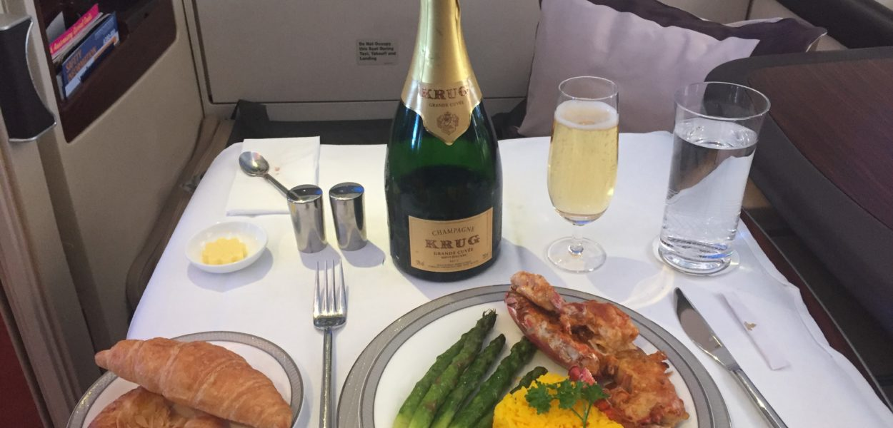 singapore airlines airbus a380 first suites class hummer essen