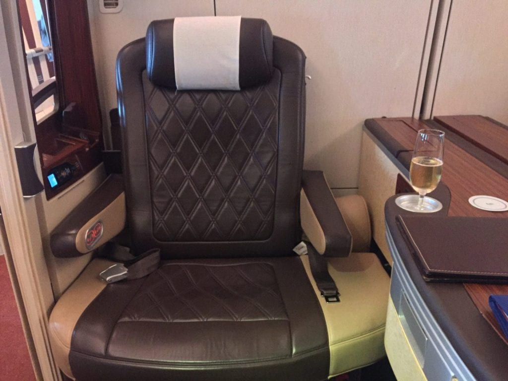 singapore airlines airbus a380 first suites class sitz