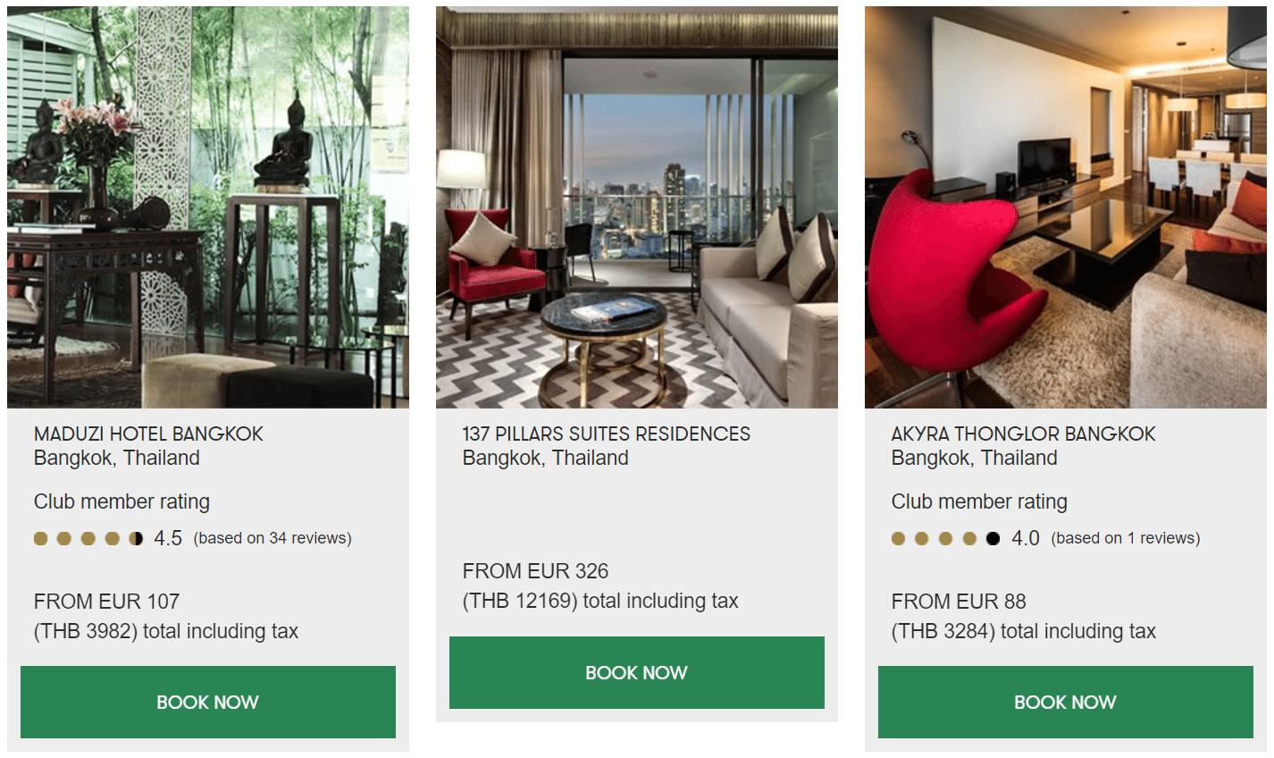 Slh preise thailand for Slh hotels deutschland