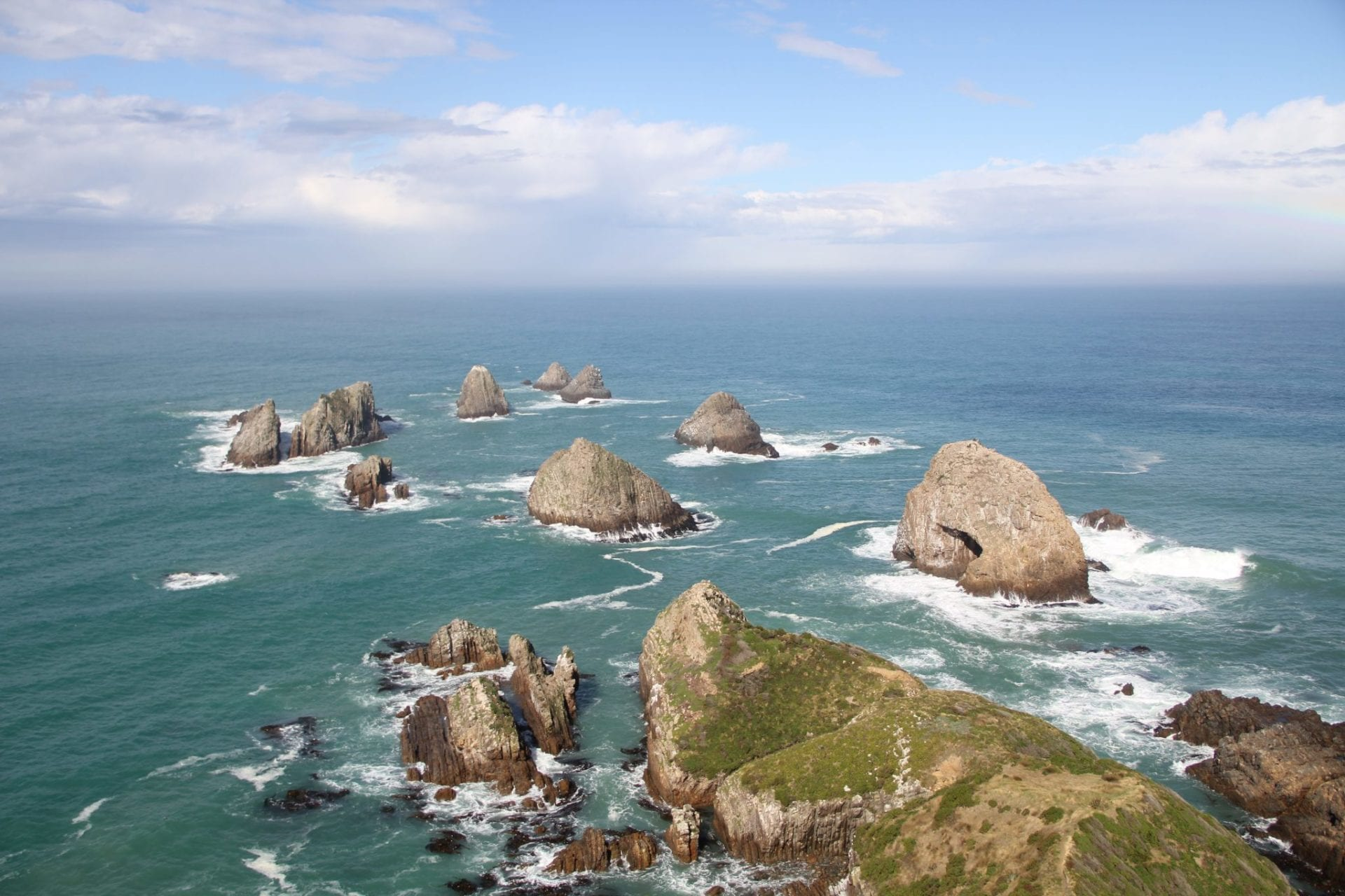 Southern Scenic Route Nugget Point Lookout