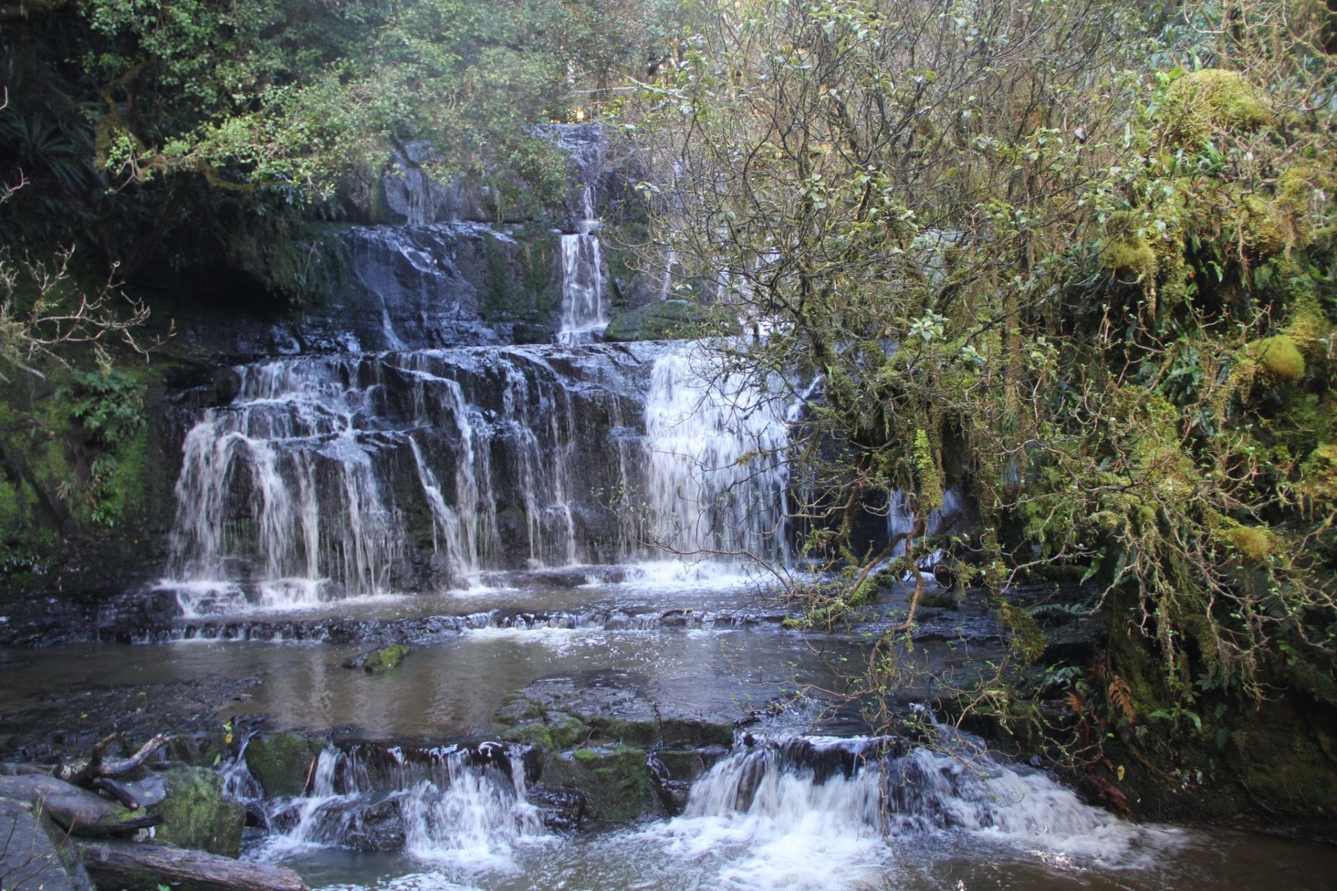 Southern Scenic Route Purakanui Falls