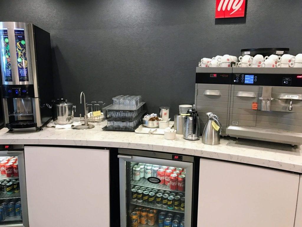 United Club London Heathrow Terminal 2B Coffee Machine