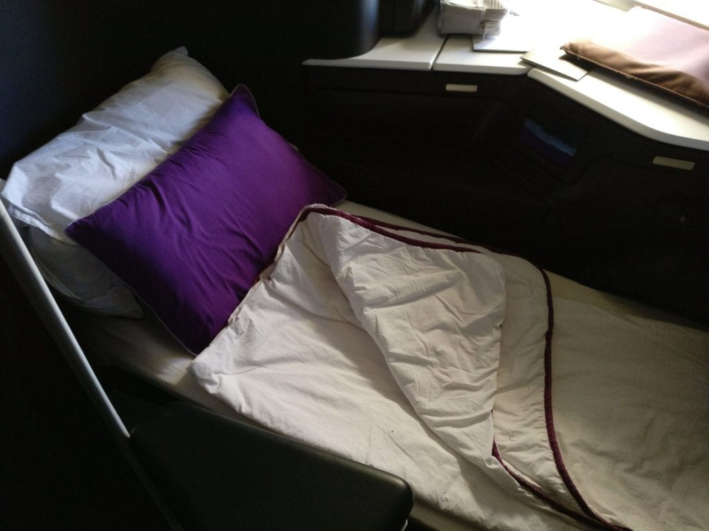 Virgin Australia Business Class Boeing 777 Sitz