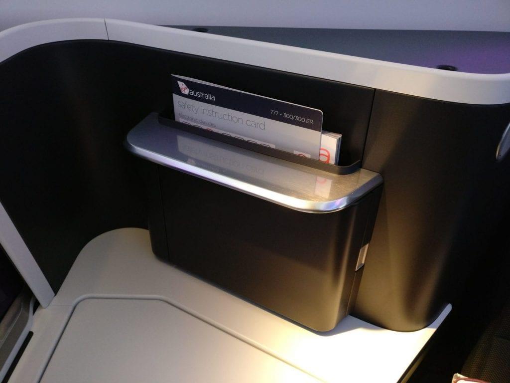 Virgin Australia Business Class Boeing 777 Sitz