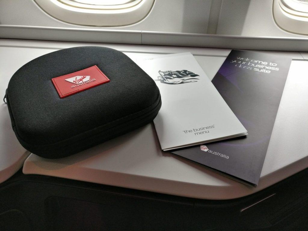 Virgin Australia Business Class Headphones