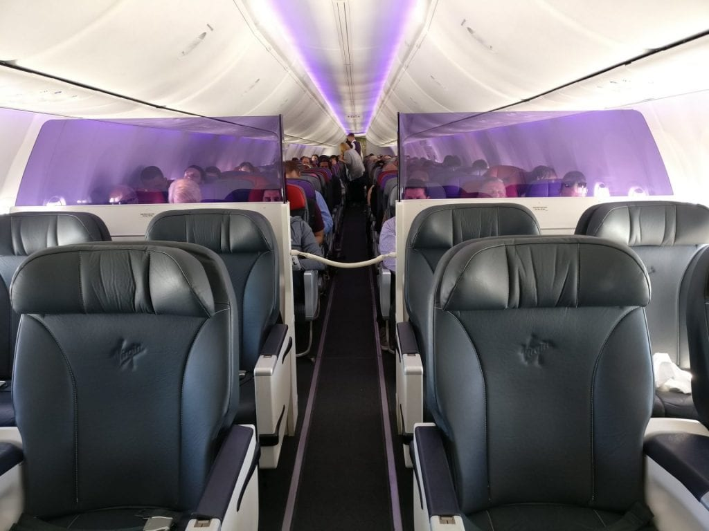 Virgin Australia Domestic Business Class Kabine