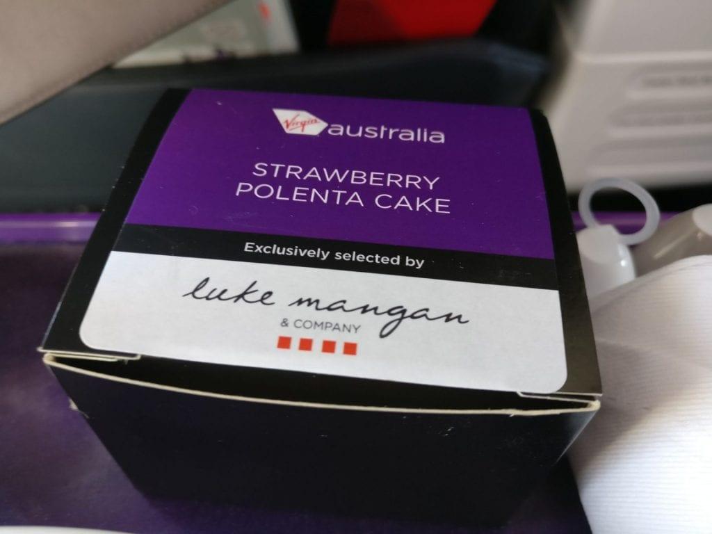 Virgin Australia Domestic Business Class Essen