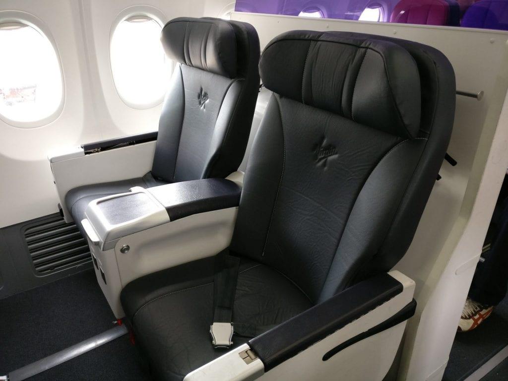 Virgin Australia Domestic Business Class Sitz