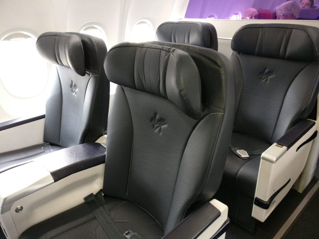 Virgin Australia Domestic Business Class Sitz