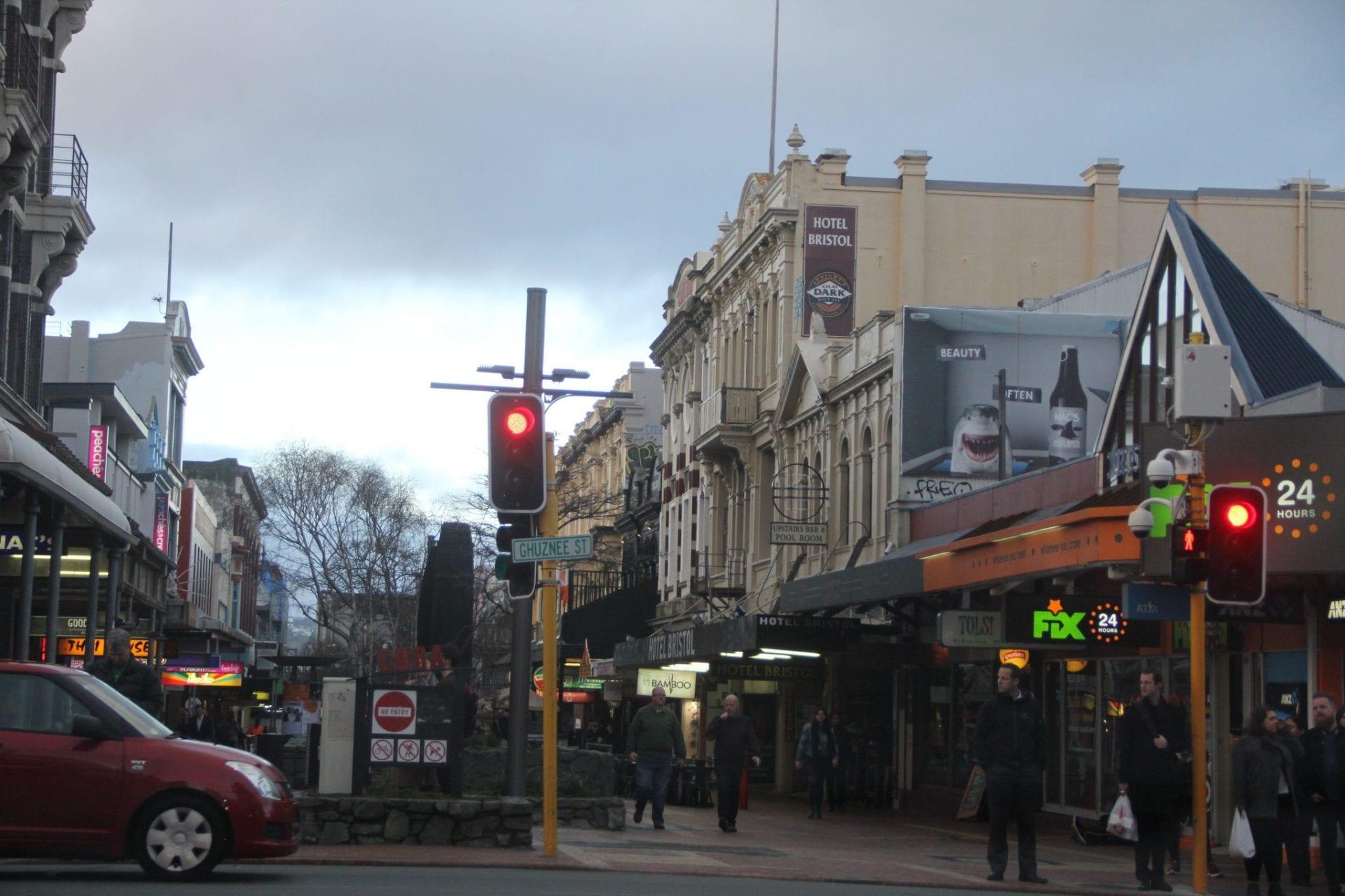 Wellington Cuba Street