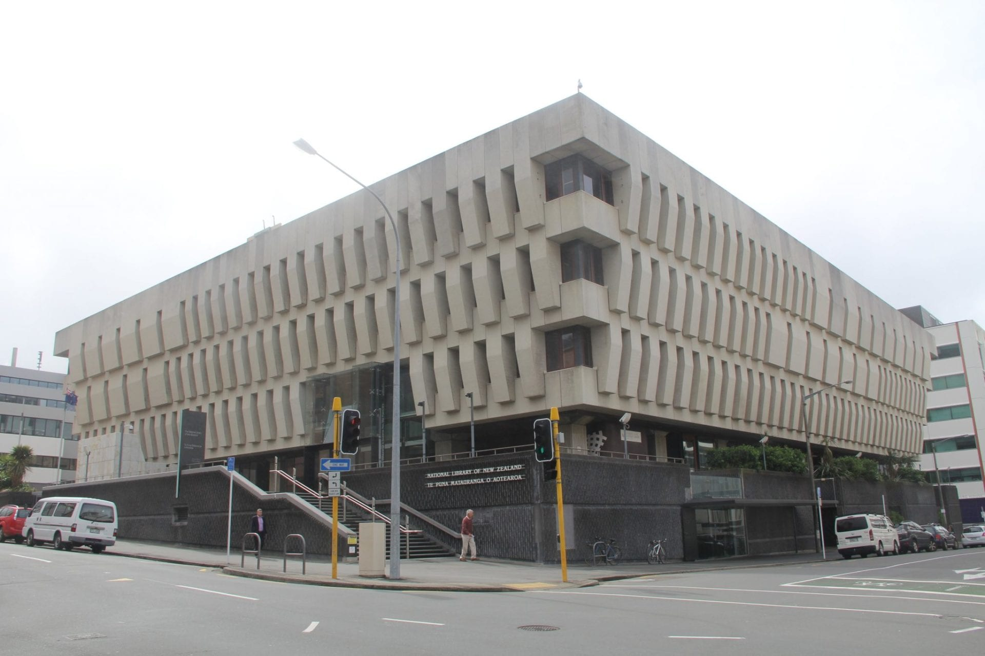 Wellington National Library of New Zealand