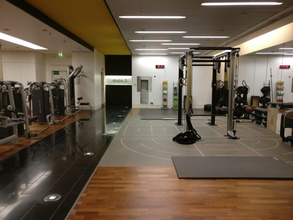 InterContinental Düsseldorf Gym Holmes Place 2