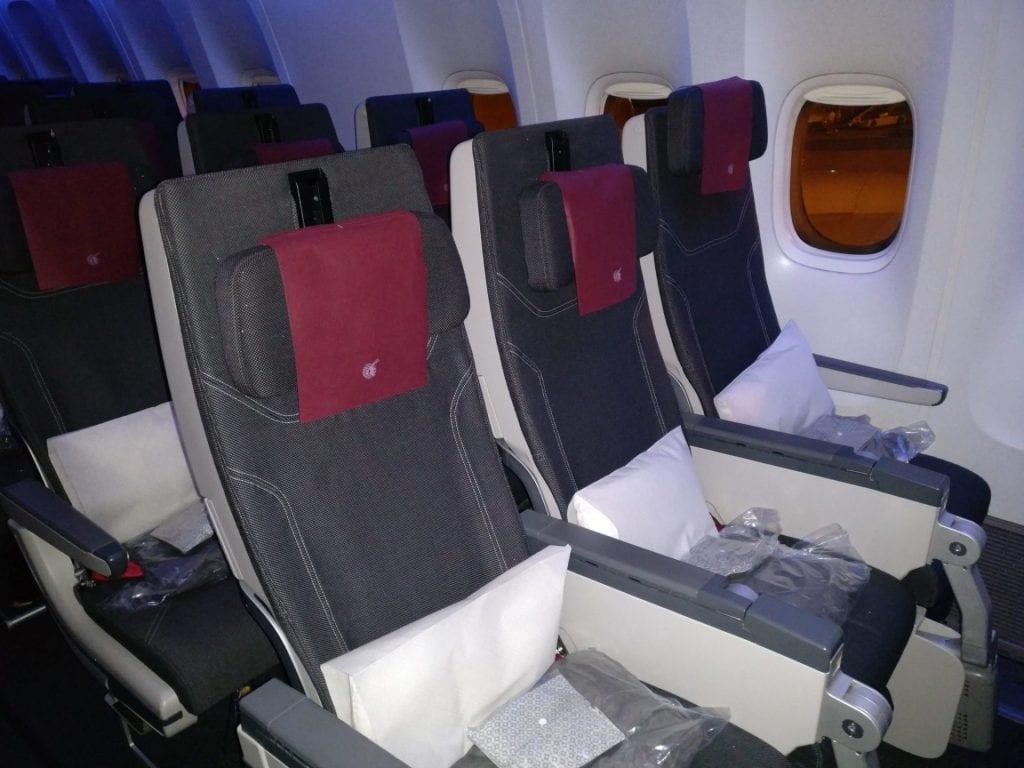 Qatar Airways Economy Class Boeing 777 Seating 6