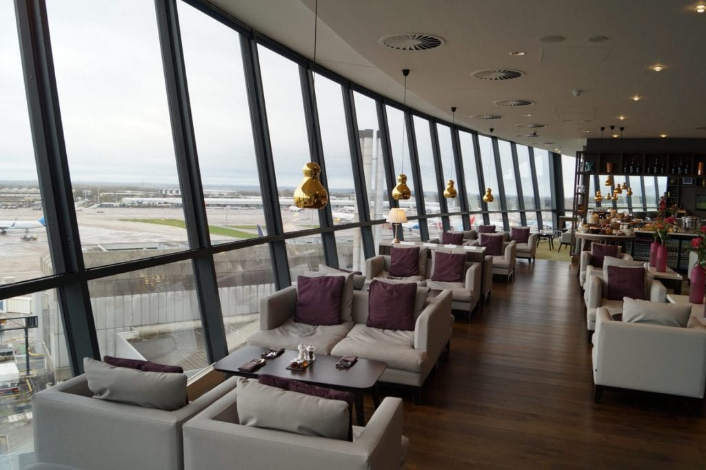 Radisson Blu Manchester Business Class Lounge