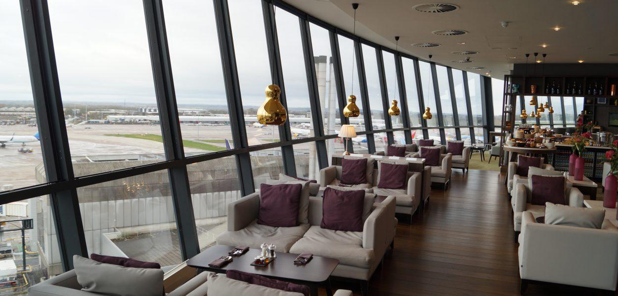 Radisson Blu Manchester Business Class Lounge