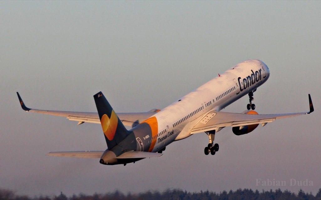 condor boeing 757 start