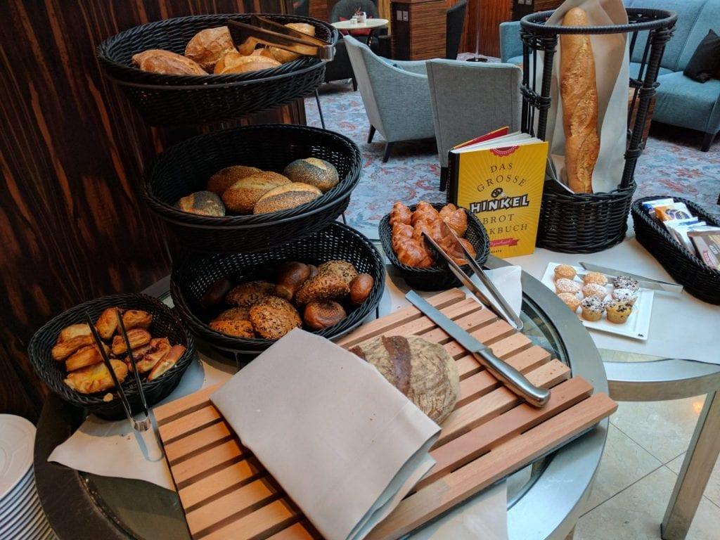 InterContinental Düsseldorf Brot