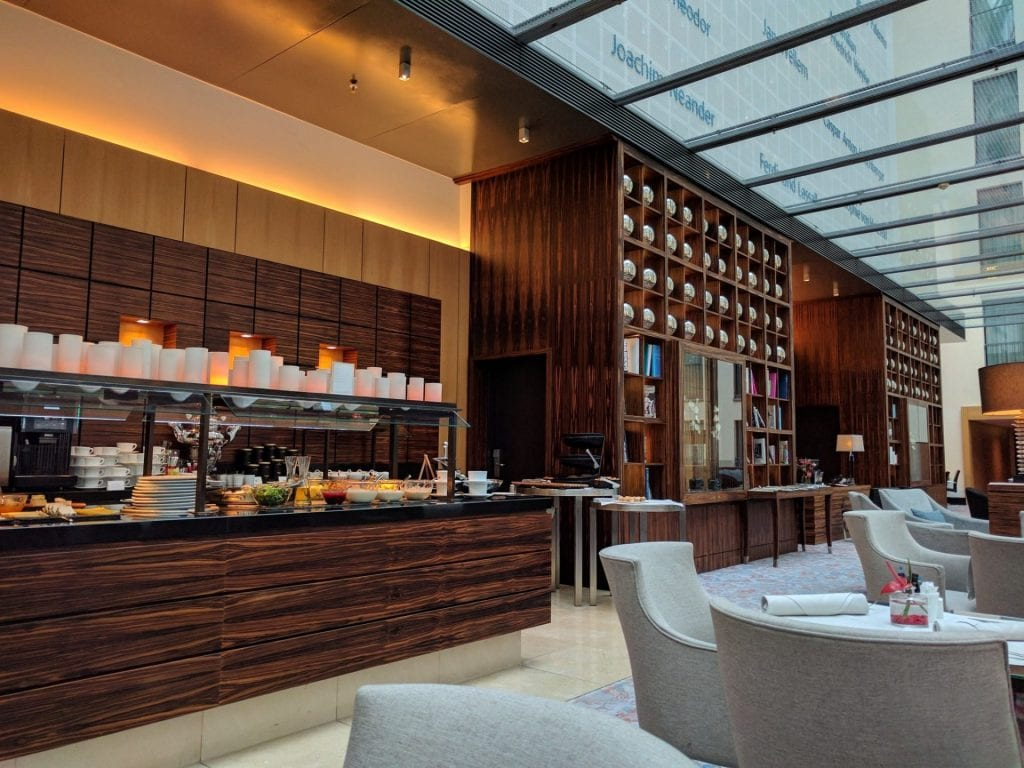 InterContinental Düsseldorf Club Lounge