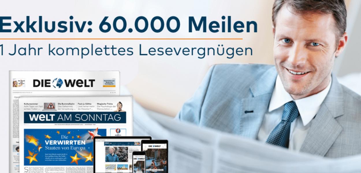 60.000 Miles & More Meilen Welt