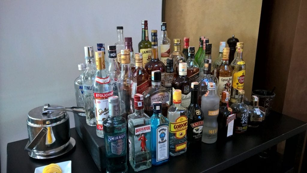 Alcohol TK Lounge Istanbul