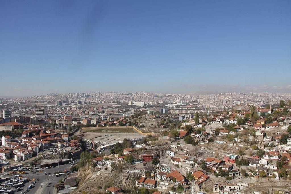 Ankara Burg Aussicht