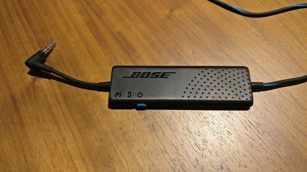 Bose QuietComfort 20 Kopfhörer Akku 1