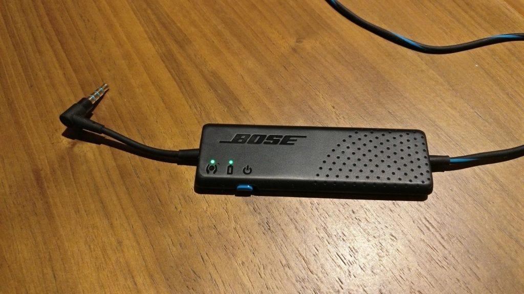 Bose QuietComfort 20 Kopfhörer Akku 2
