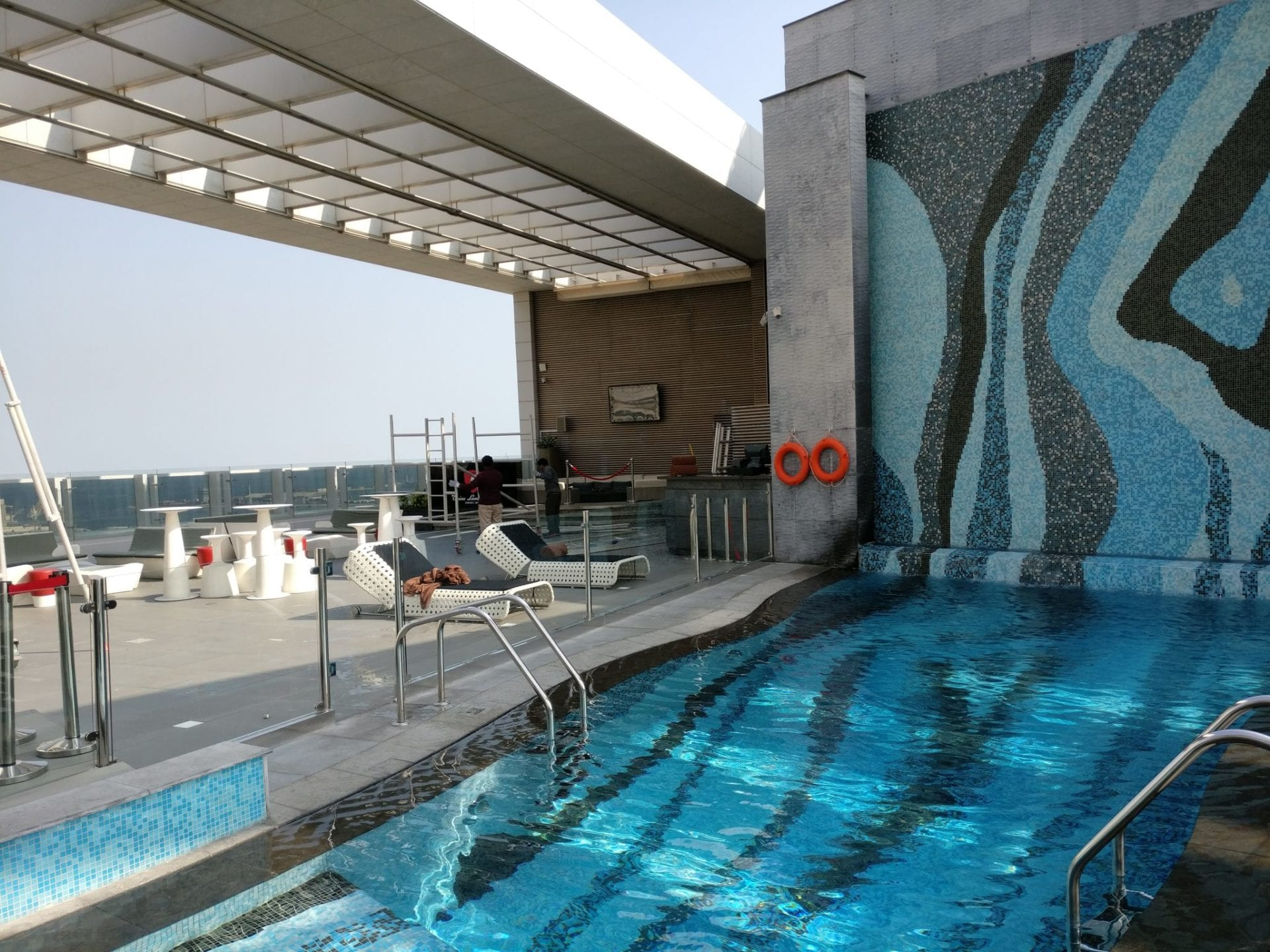 DoubleTree Doha Old Town Rooftop Pool 2
