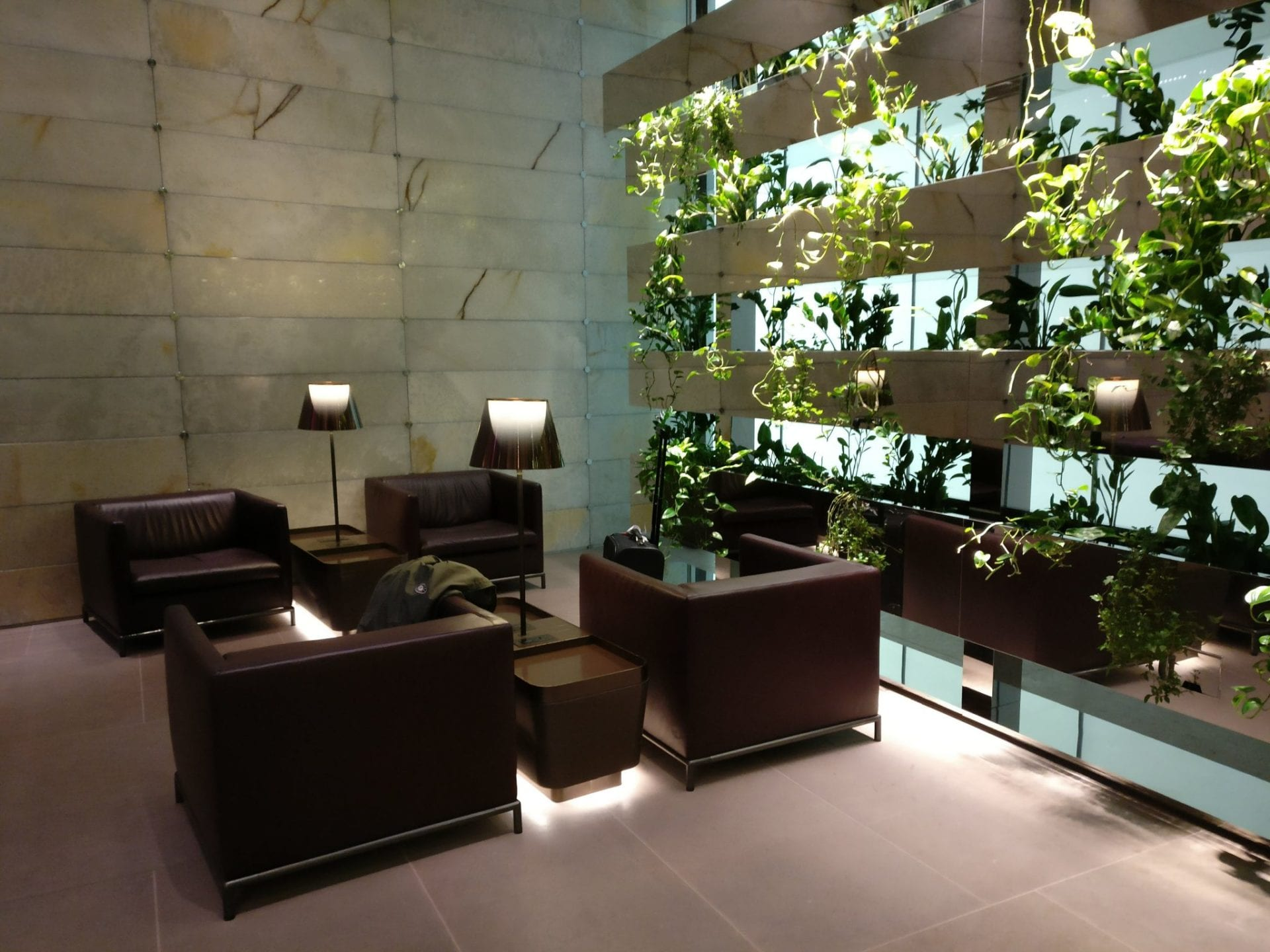 First Class Lounge Doha Seating 3