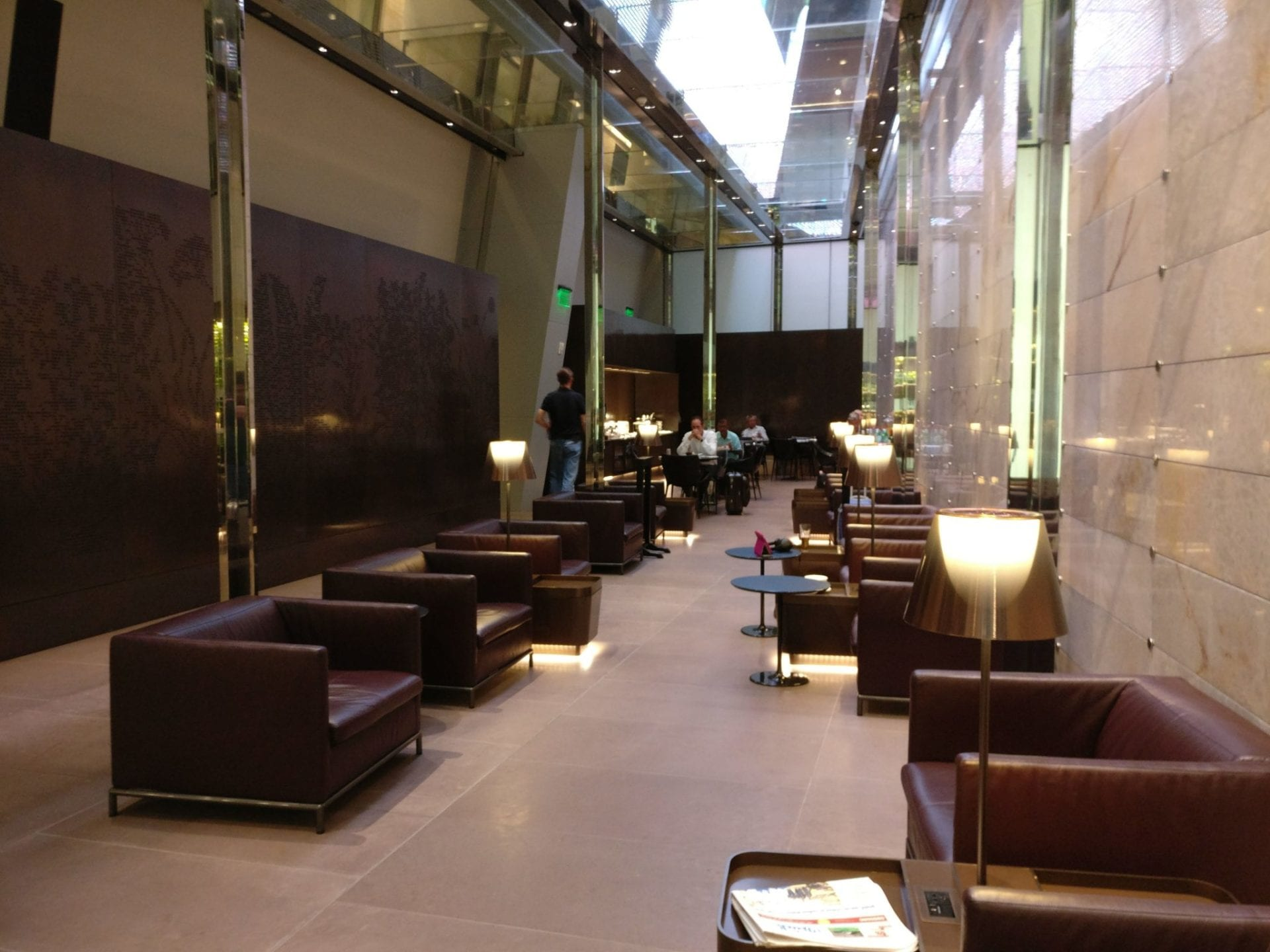 First Class Lounge Doha Seating 5