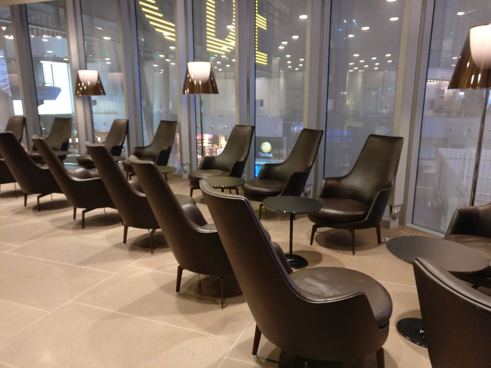 First Class Lounge Doha Seating 9