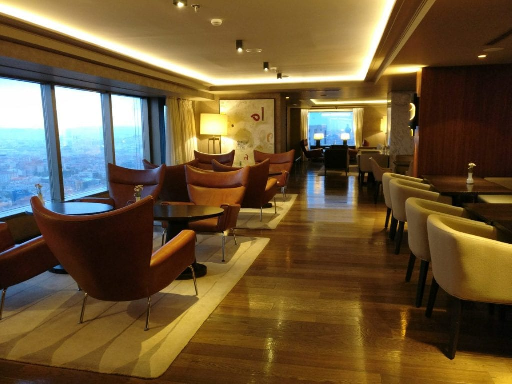 Hilton Ankara Executive Lounge 2