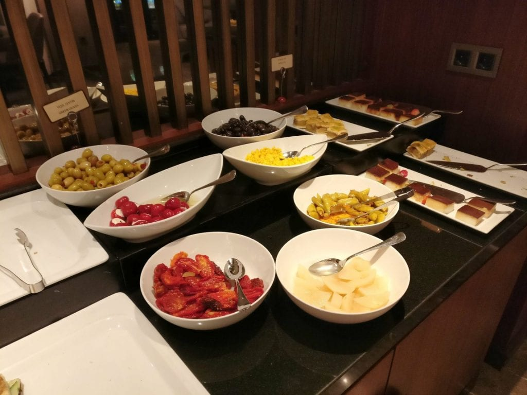Hilton Ankara Executive Lounge Evening Spread 2
