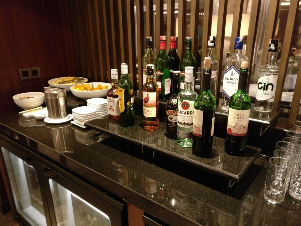 Hilton Ankara Executive Lounge Evening Spread 3