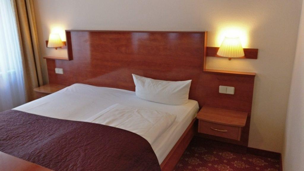 Hotel Zarenhof Prenzlauer Berg Berlin Bett