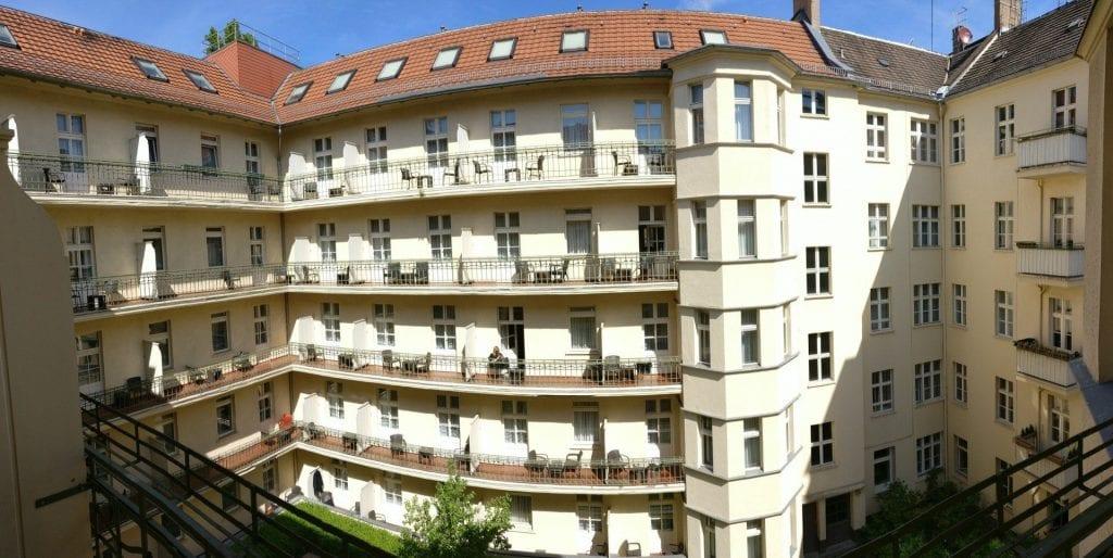 Hotel Zarenhof Prenzlauer Berg Berlin Gebäude