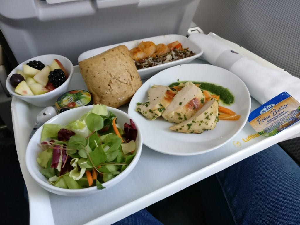 Lufthansa Business Class Mittelstrecke Essen