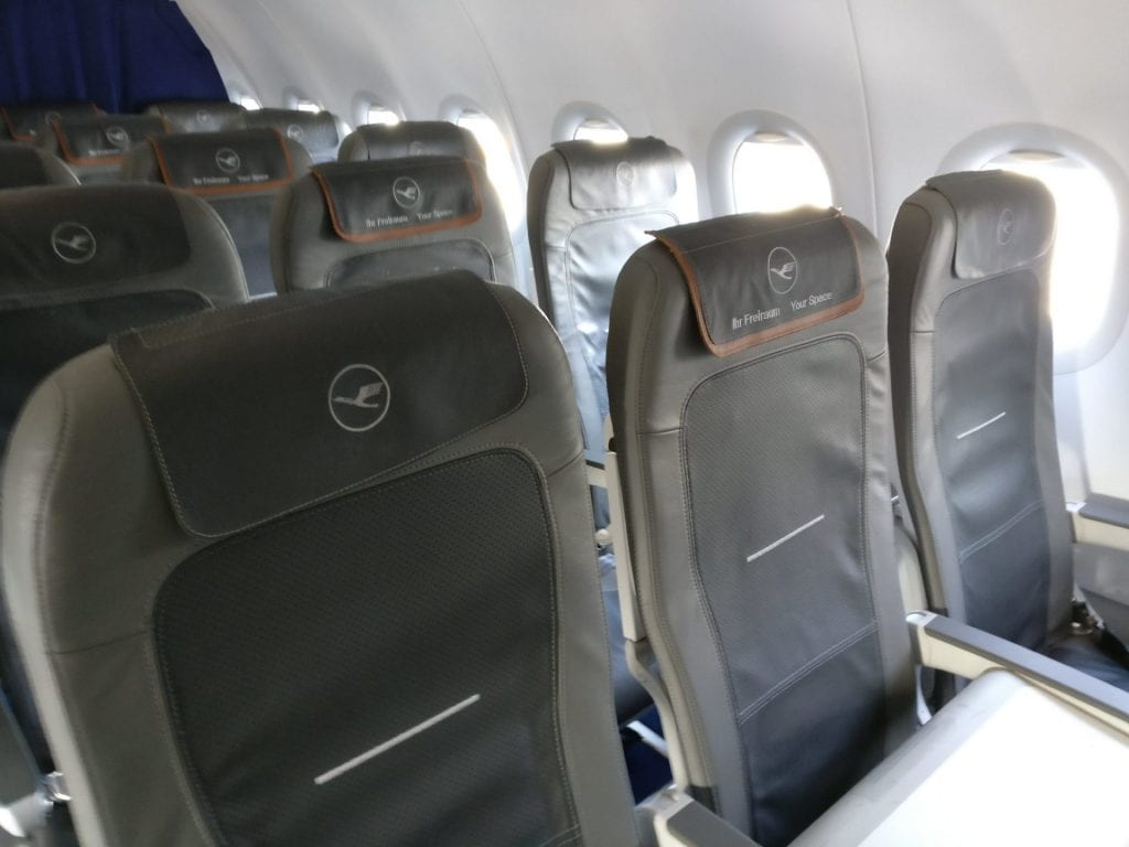 Upgrade Lufthansa Kurzstrecken Business Class