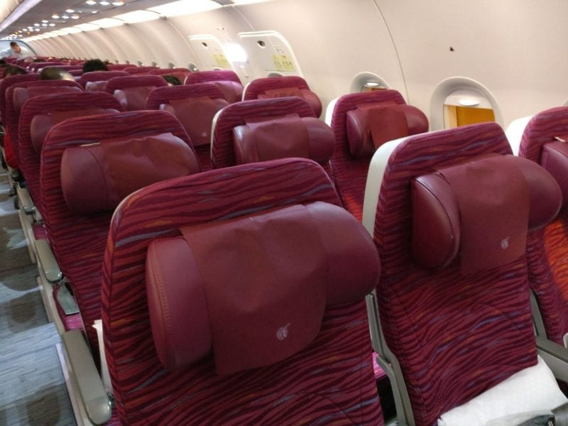 Qatar Airways Economy Class Airbus A320 Seating 3