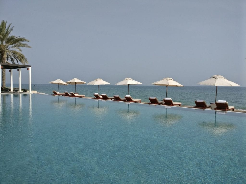 The Chedi Muscat Chedi Pool