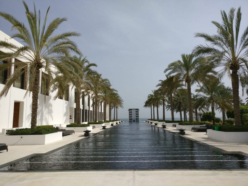 The Chedi Muscat Long Pool