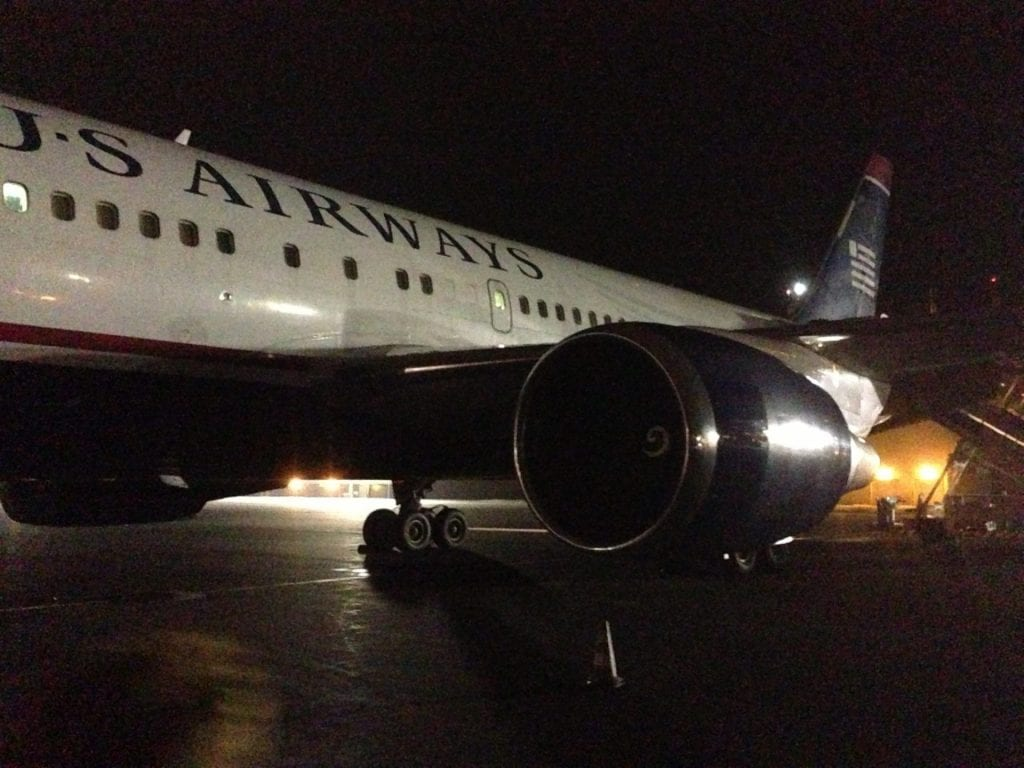US Airways Boeing 767 Azoren